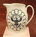 Jug, 1796-1803, Liverpool, England, earthenware with transfer decoration - Art Institute of Chicago - DSC09947.JPG