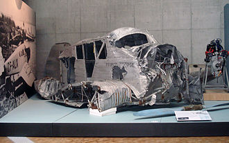 Junkers F.13 - F 13 remains from Canada in the Deutsches Technikmuseum Berlin