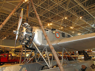 Junkers W 34 - Junkers W 34 f/fi in Canada Aviation and Space Museum