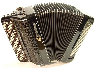 Bayan (accordion) - Image: Jupiter bayan accordion