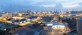 Jurong Port panorama, Singapore - 20100311.jpg