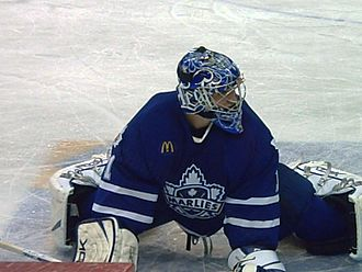 Justin Pogge - Pogge with the Toronto Marlies in 2007