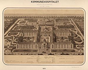 City Campus (University of Copenhagen) - Copenhagen Municipal Hospital