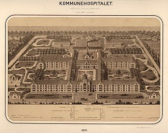 City Campus (University of Copenhagen) - Copenhagen Municipal Hospital