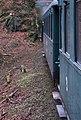 Křivoklát, Křivoklát expres (prosinec 2013), konec vlaku v tunelu.jpg