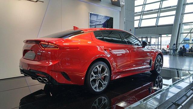 Kia Stinger 3.3 T-GDI V6 GT