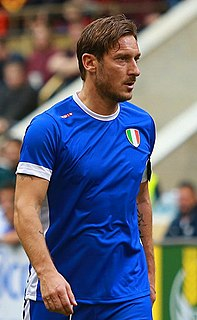 Francesco Totti Italian association football player