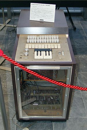 Drum machine - Korg Donca-Matic DA-20 (1963)