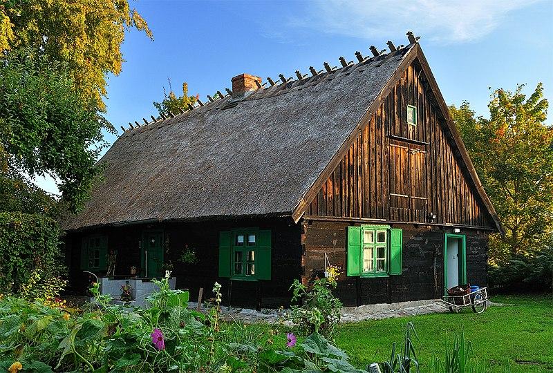 Miejsce drugie: Zabytkowa warmińska chałupa we wsi Kaborno w województwie warmińsko-mazurskim.