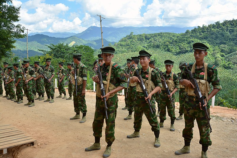 File:Kachin Independence Army cadets in Laiza (Paul Vrieze-VOA).jpg