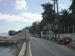 Kaiser's Bridge in Corfu