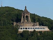 Kaiser Wilhelm Denkmal An Der Porta Westfalica Wikipedia