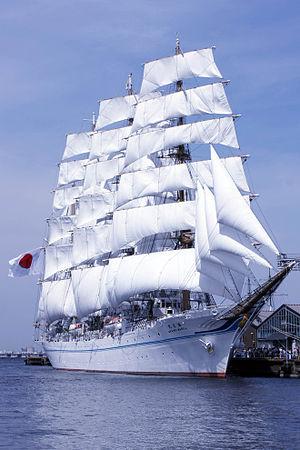 Kaiwo Maru (1989) - Image: Kaiwo Maru II in yokohama japan