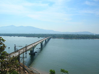 Karwar, Karnataka - Kali river bridge, Karwar, Karnataka