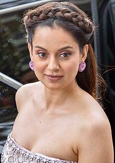 Kangana Ranaut Indian actress