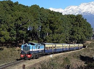 Kangra Valley Railway - Image: Kangra Valley train