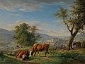 Karl Kuntz - Weidende Tiere in Landschaft bei Baden-Baden - 651 - Staatliche Kunsthalle Karlsruhe.jpg