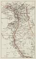 Karta över Cook's anordnade resor i Egypten - Hallwylska museet - 100673.tif