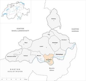 Map of Obergösgen