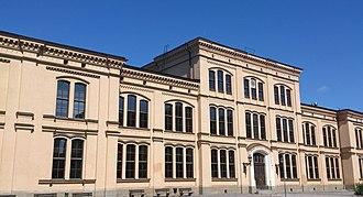 Katedralskolan, Uppsala - The main building