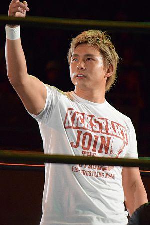Katsuhiko Nakajima - Nakajima in August 2016