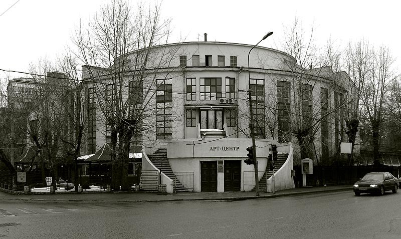 Kauchuk club moscow architect melnikov