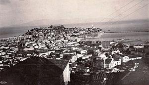 Kavala, postcard, 1942