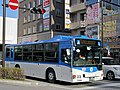 Kawasaki City Bus W-2814 near Mizonokuchi Station.jpg