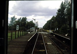 Kempston Hardwick railway station in 1984.jpg