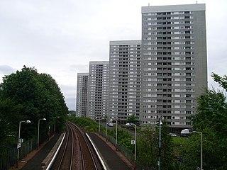 Kennishead railway station