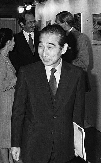 Kenzō Tange - Kenzo Tange in Amsterdam in 1981