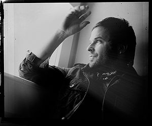 Singer Kevin Max by a window, taken for public...