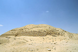 Layer Pyramid Archaeological site in Egypt