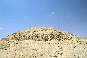 Layer Pyramid - The ruins of the layer pyramid