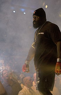 Kimbo Slice American mixed martial arts fighter