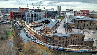 King's Cross Central - View of the King's Cross Central development, February 2019