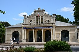 Kiosque Bosc, one of the concrete buildings of Montpellier - panoramio.jpg