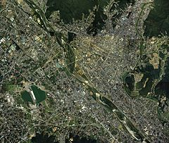 Kiryu city center area Aerial photograph.1986.jpg