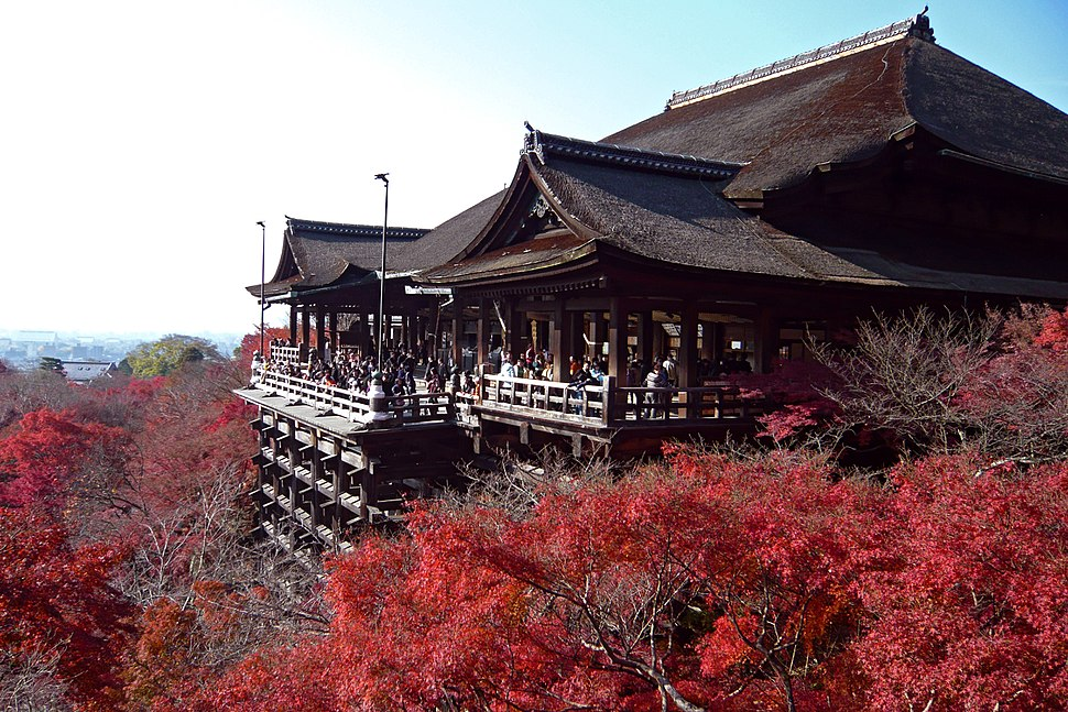 Kiyomizu-dera in Kyoto-r