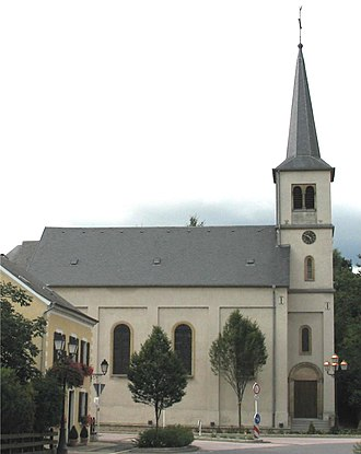 Kleinbettingen - The church