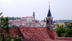 Klosterkirche St.Luzen (Hechingen) Dächer.JPG