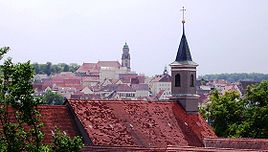 View to the old town
