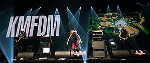 KMFDM - KMFDM live in 2011
