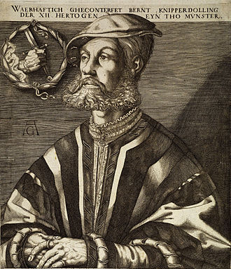 John of Leiden - Vice-king and executer Bernhard Knipperdolling
