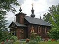 Kościół unicki p.w. św. Nicefora (1852r.) (fot. 1) - Kostomłoty gmina Kodeń powiat bialski woj. lubelskie ArPiCh A-17.JPG
