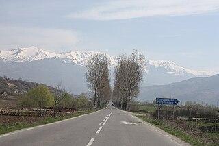 Porominovo Village in Kyustendil Province, Bulgaria