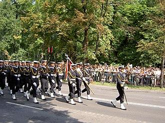 Representative Honor Guard Battalion of the Polish Armed Forces - Image: Kompania reprezentacyjna Marynarki Wojennej