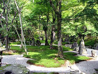 Dazaifu, Fukuoka - Stone garden at Kōmyōzen-ji