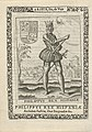 Koning Filips II, erfpotestaat van Friesland Philippus Rex Frisiae (titel op object) Koningen en Potestaten van Friesland (serietitel) Frisia, sev, de Viris (serietitel op object), RP-P-OB-50.601.jpg