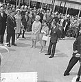 Koningin Juliana, prinses Margaret en Lord Snowdon bij de RAI in Amsterdam link, Bestanddeelnr 917-7721.jpg
